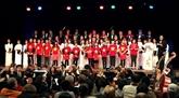 Le chœur Quê huong au Festival international de chant choral de Paris