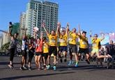 Plus de 5.000 coureurs inscrits pour le 5e marathon de Dà Nang