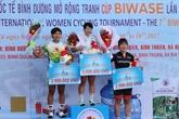 Départ de la course cycliste internationale féminine de Binh Duong 2017