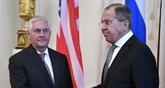 États-Unis - Russie : entretien Tillerson-Lavrov après une escalade verbale sur la Syrie