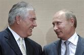 Poutine reçoit Tillerson, déplore la dégradation des relations Russie-USA