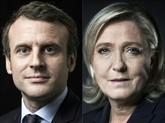 Macron et Le Pen en duel à Paris pour lancer le sprint final