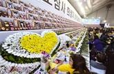 Les Sud-Coréens commémorent le naufrage du Sewol en 2014