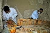 En Égypte, huit momies découvertes dans une tombe de lépoque pharaonique