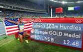 Dopage : lAméricaine Brianna Rollins, championne olympique du 100 m haies, suspendue