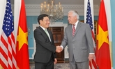 Le chef de la diplomatie vietnamienne en visite officielle aux États-Unis