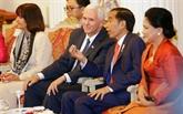 Accords de 10 milliards deuros entre États-Unis et Indonésie