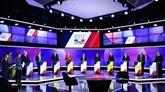 Macron en tête suivi par Le Pen, Mélenchon talonne Fillon