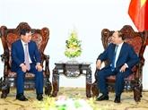 Le Premier ministre reçoit le directeur général de la branche utilitaire de Hyundai Motor