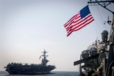 Un porte-avions américain et sa flotte seront dans quelques jours en mer du Japon