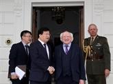 Le vice-Premier ministre Trinh Dinh Dung termine sa visite officielle en Irlande