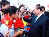 Nguyên Xuân Phuc entame sa visite officielle au Cambodge