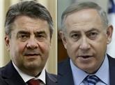 Crise ouverte entre lAllemagne et son allié israélien historique