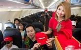 Vietjet Air inaugure une ligne Hanoï - Singapour