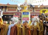 Le FPV présente ses vœux à loccasion de lanniversaire du Bouddha