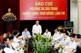 Le président du FPV souligne le rôle de la presse dans la lutte anti-corruption