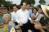 Le président Trân Dai Quang visite la commune de Nghia Dông (Nghê An)