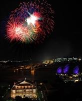 Report de louverture du festival international des feux dartifice de Dà Nang
