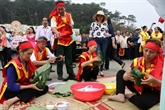 Des célébrations de la Fête du temple des rois Hùng
