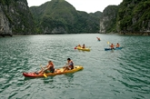 Quang Ninh : le kayaking banni de la baie de Ha Long