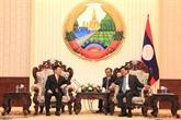 Le Laos donne de l'importance au soutien de l'Audit d'État du Vietnam