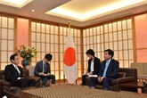 Une délégation de haut rang de Hô Chi Minh-Ville en visite au Japon