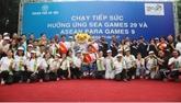 La 6e étape de la course de relais en l'honneur des Sea Games 29 à Hanoï