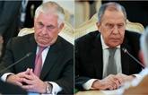 Syrie : le Russe Lavrov vient chercher le soutien de Trump
