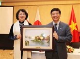 La vice-présidente Dang Thi Ngoc Thinh entame sa visite au Japon