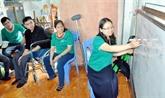 Infirme, elle apporte son aide auprès de la communauté des handicapés