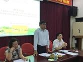 Lancement du concours de création du logo Riz du Vietnam à Hanoï