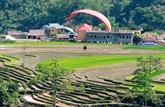 Ouverture du festival de parapente au col Khau Pha à Yên Bai