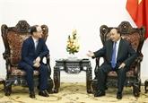 Nguyên Xuân Phuc reçoit le chef de Samsung Vietnam
