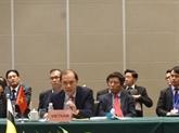 Réunion consultative des hauts officiels ASEAN - Chine