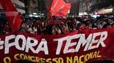 Manifestations au Brésil pour exiger la démission du président Temer
