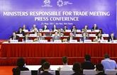 Clôture de la 23e conférence des ministres responsables du commerce