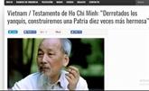 Les médias argentins louent la direction du Président Hô Chi Minh