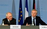 Zone euro : Paris et Berlin veulent aller plus vite, plus loin dans lintégration
