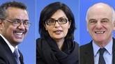 Élection du chef de l'OMS à Genève