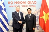 Renforcer les relations entre le Vietnam et la Grèce