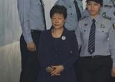 Ouverture du procès pour corruption de lancienne présidente Park Geun-hye