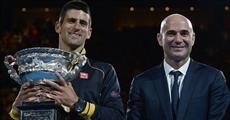 Andre Agassi, nouveau coach de Novak Djokovic