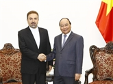 Le Premier ministre Nguyên Xuân Phuc reçoit l'ambassadeur iranien