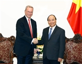 Le Premier ministre Nguyên Xuân Phuc reçoit le président exécutif du groupe Alphabet