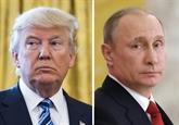Syrie : Trump et Poutine ont évoqué la question des zones de sécurité