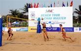 Le tournoi de volley-ball de plage féminin d'Asie Tuân Châu 2017