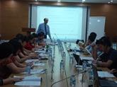 Formation à lutilisation du guide sur la démarche-qualité à Hanoï