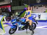 Les nouveaux modèles de motos se dévoilent au Vietnam Motorcycle Show 2017