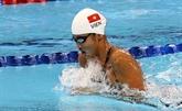 La nageuse Anh Viên remporte l'argent aux États-Unis