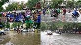 À Hanoï, la saison des pluies débarque sans préavis